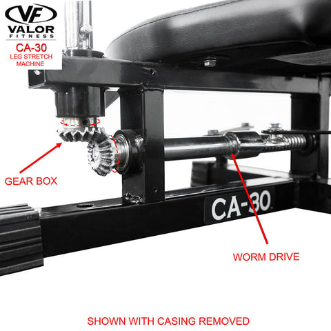 Image of Valor Fitness CA-30 Leg Stretch Machine casing Removed