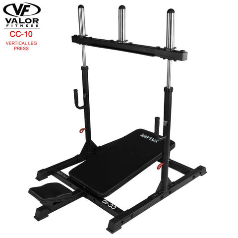 Image of Valor Fitness CC-10 Vertical Leg Press 3D View