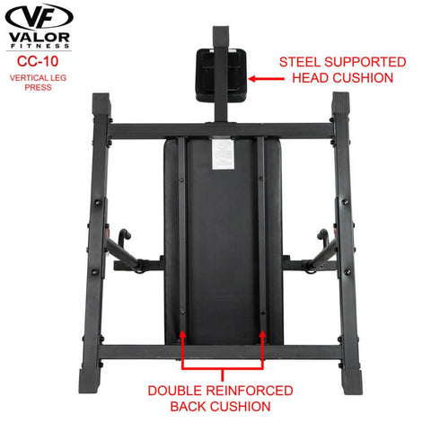 Image of Valor Fitness CC-10 Vertical Leg Press Back Cushion
