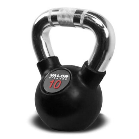 Image of Valor Fitness CKB Chrome Kettlebells 10 lbs Close Up