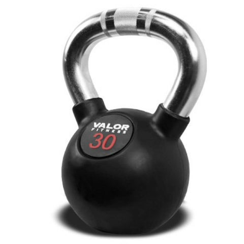 Image of Valor Fitness CKB Chrome Kettlebells 30 lbs Close Up