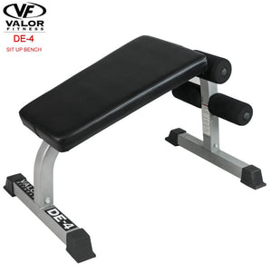 Valor Fitness DE-4 Sit Up Bench 3D View