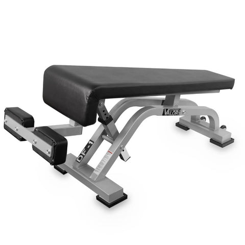 Image of Valor Fitness DF-1 Decline_Flat Bench Pro 3D View