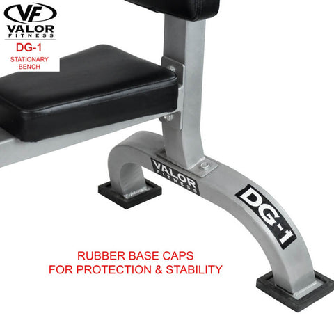 Image of Valor Fitness DG-1 Stationary Bench Stability