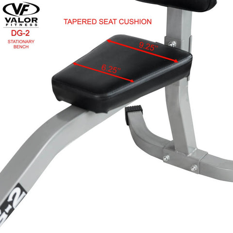Image of Valor Fitness DG-2 Stationary Bench Seat Cushion