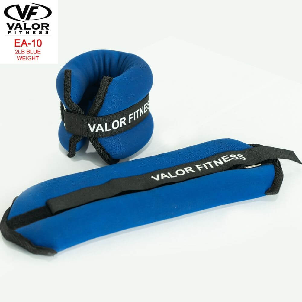 Valor Fitness EA-10 2 lb Blue Weight (2) Lying