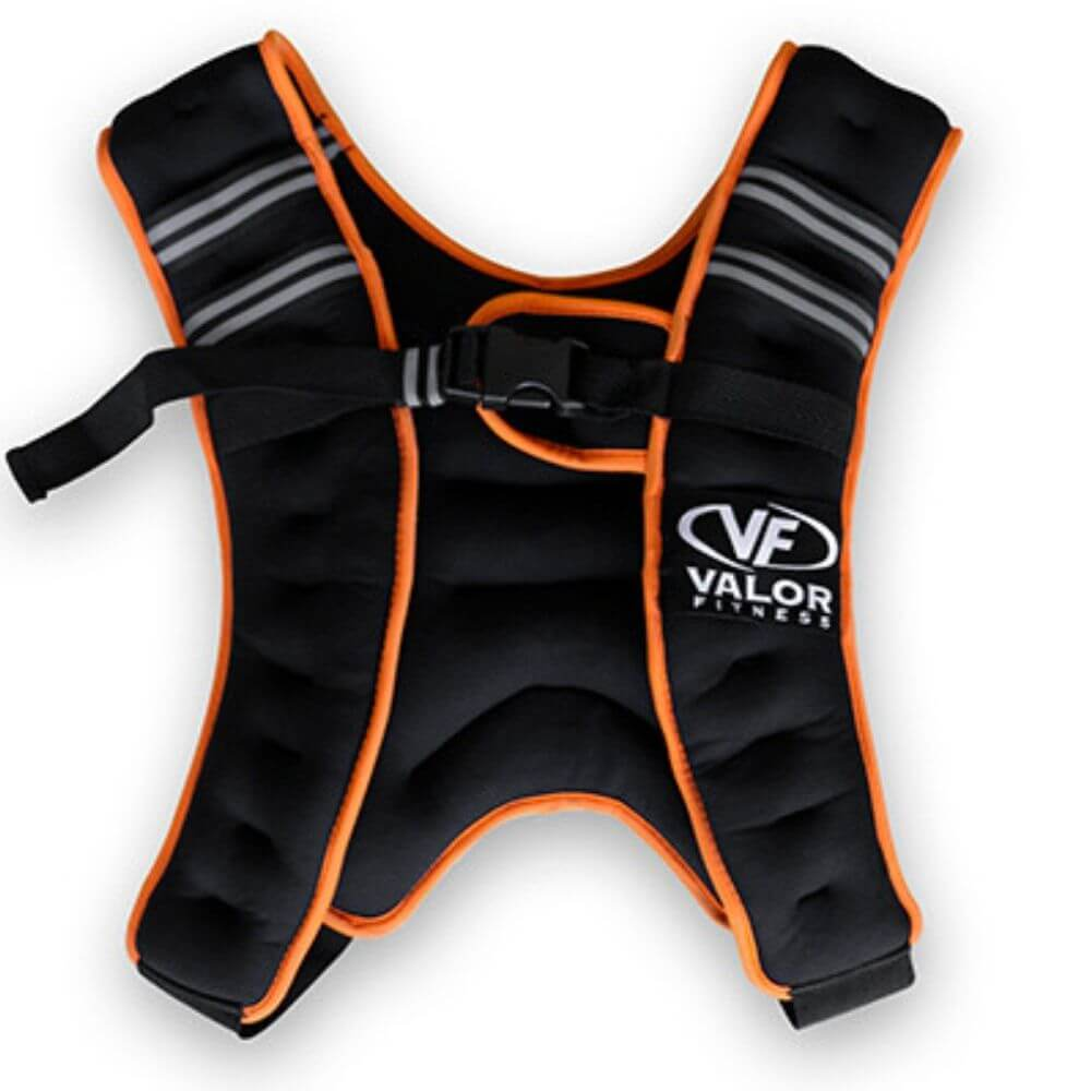 Valor Fitness EH-18 18 lb Weight Vest Close Up