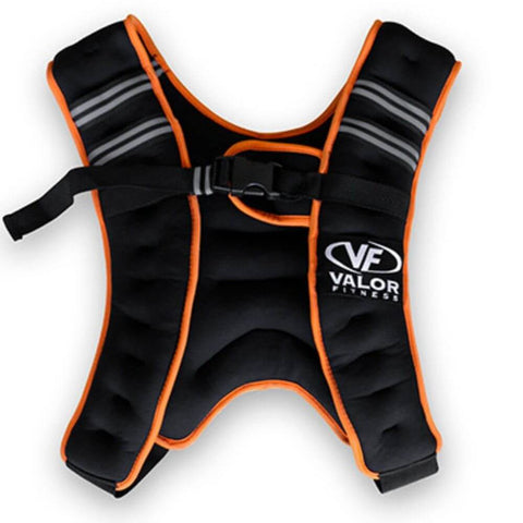 Image of Valor Fitness EH-18 18 lb Weight Vest Close Up