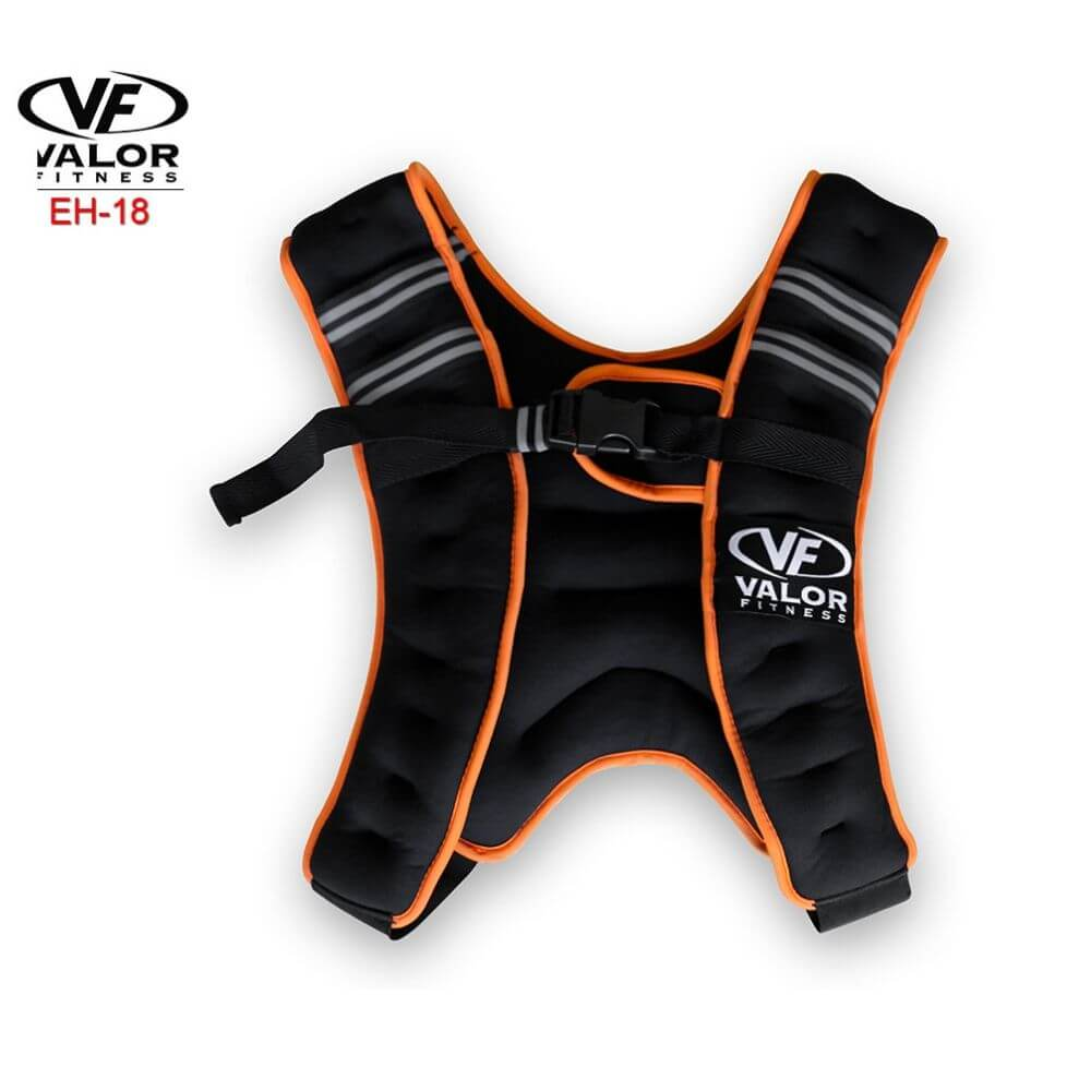 Valor Fitness EH-18 18 lb Weight Vest Front View