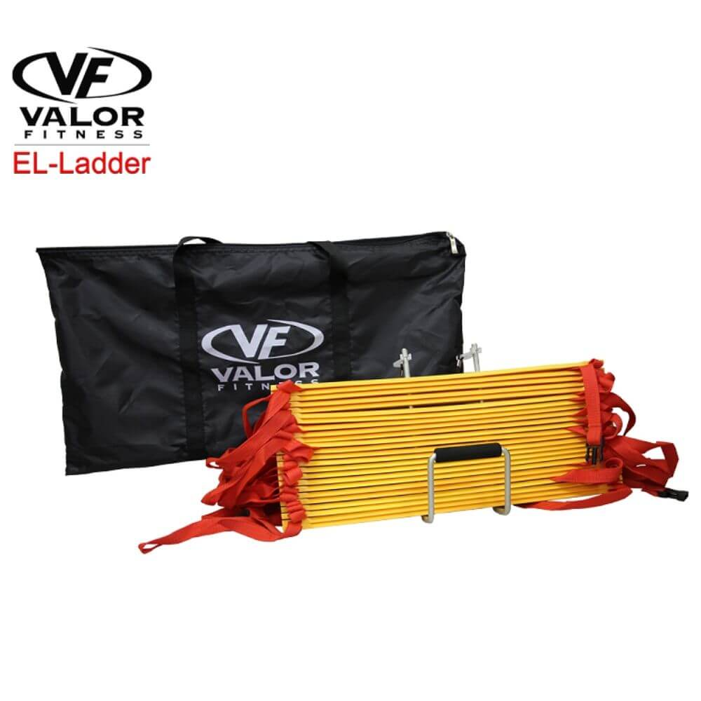 Valor Fitness EL-Ladder Agility Training Ladder Front View