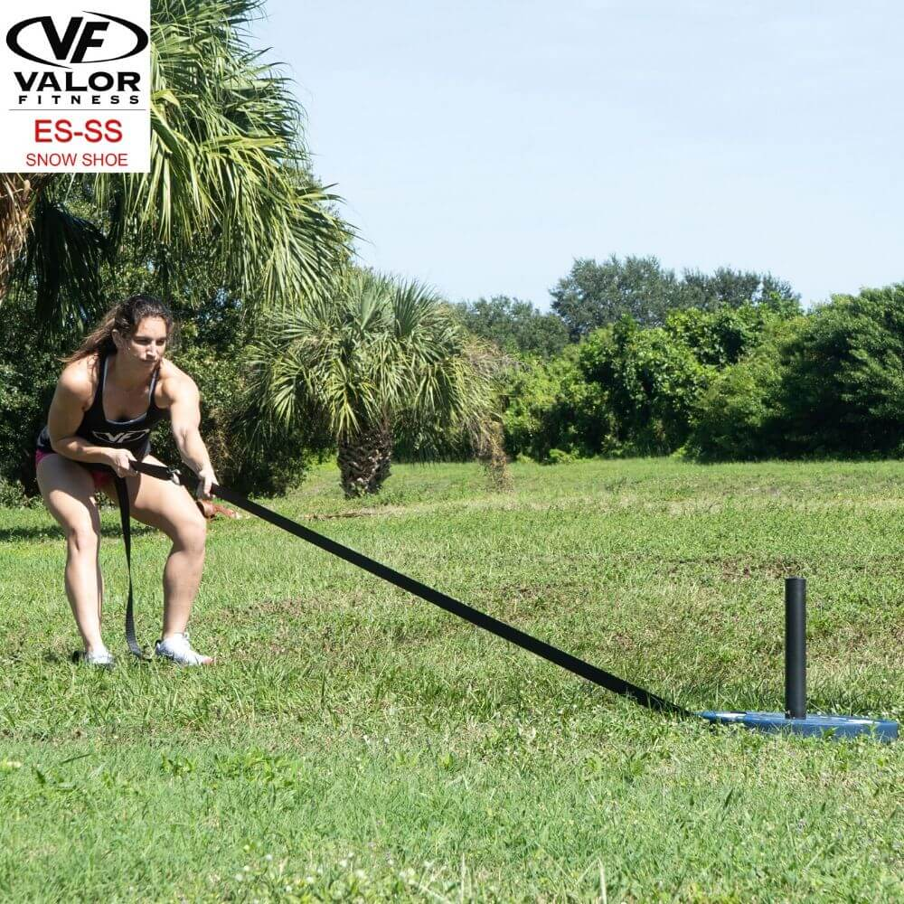 Valor Fitness ES-SS Snow Shoe Sled Pulling