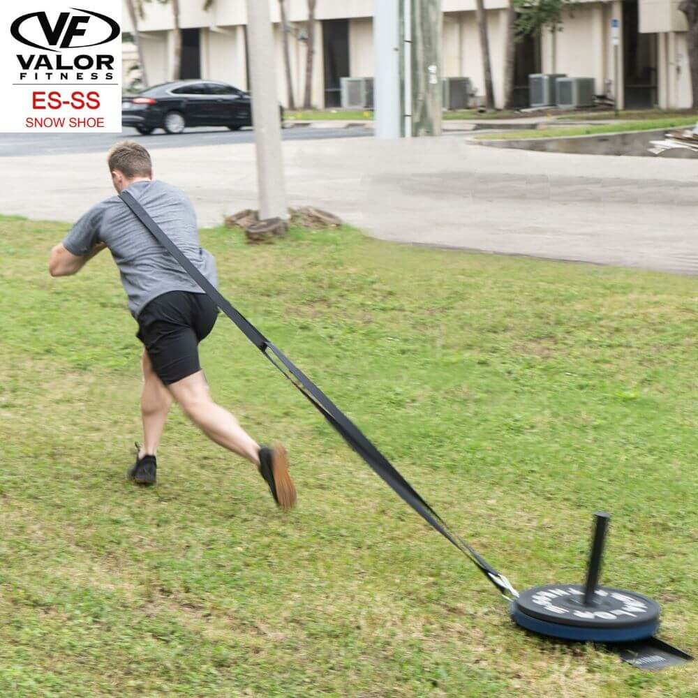 Valor Fitness ES-SS Snow Shoe Sled Running