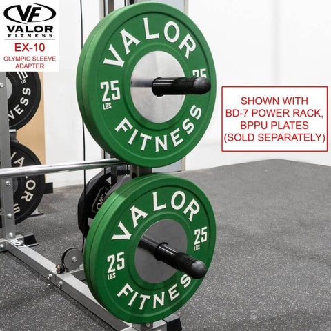 Image of Valor Fitness EX-10 Olympic Sleeve Adapter BD-7 Power Rack