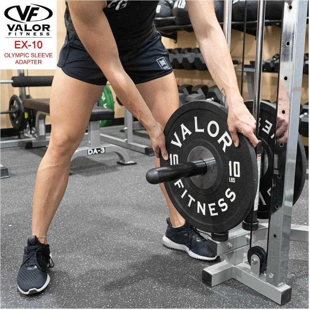 Valor Fitness EX-10 Olympic Sleeve Adapter With Power Rack