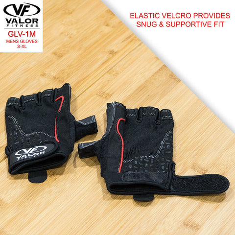 Image of Valor Fitness GLV-1M Mens Gloves Velcro