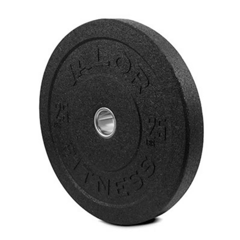 Valor Fitness HT Bumper Plates BPH 25 Lbs 3D View