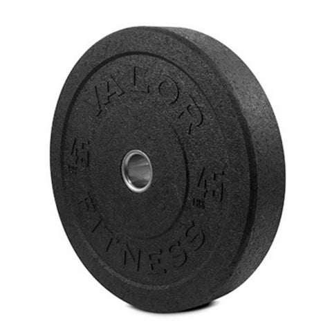 Valor Fitness HT Bumper Plates BPH 45 Lbs 3D View