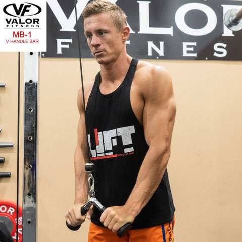 Image of Valor Fitness MB-1 V-Handle Bar Pulling