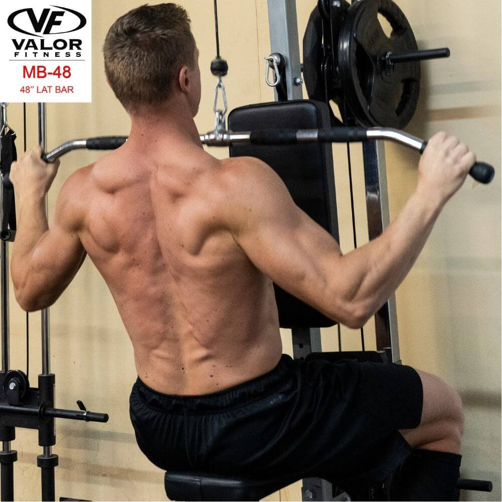 Valor Fitness MB-48 48_ Lat Bar Pulling Chest