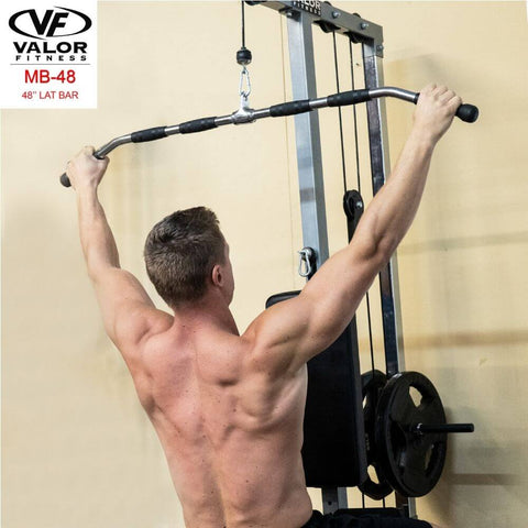 Image of Valor Fitness MB-48 48_ Lat Bar Pulling