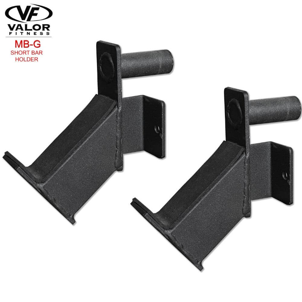 Valor Fitness MB-G BD-11 Short Bar Holder 3D View