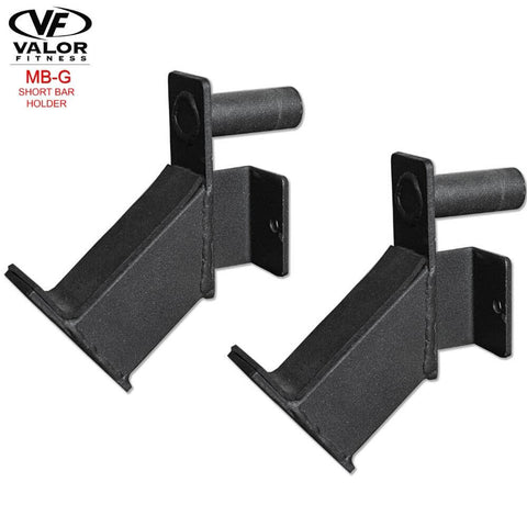 Image of Valor Fitness MB-G BD-11 Short Bar Holder 3D View