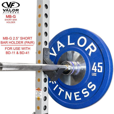 Image of Valor Fitness MB-G BD-11 Short Bar Holder With BD 11