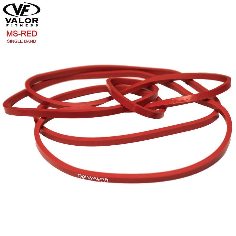 Valor Fitness MS-Red MS Band Red 3D View