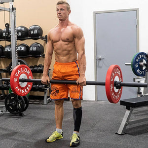 Valor Fitness OB-AXL Axle Bar Standing