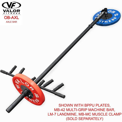 Valor Fitness OB-AXL Axle Bar With Landmine