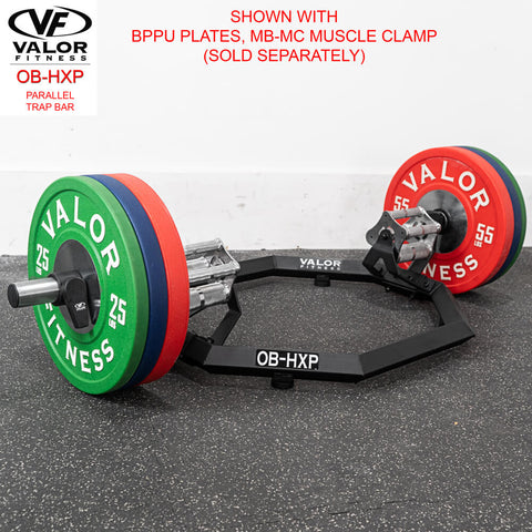 Valor Fitness OB-HXP Parallel Trap Bar With BPPU Plates