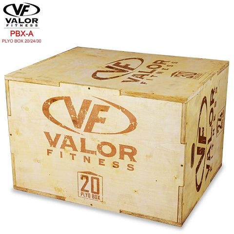 Image of Valor Fitness PBX-A Plyo Box 20_24_30 20 Side