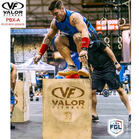 Image of Valor Fitness PBX-A Plyo Box 20_24_30 30 Height Jump