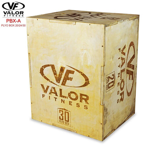 Image of Valor Fitness PBX-A Plyo Box 20_24_30 30 Side