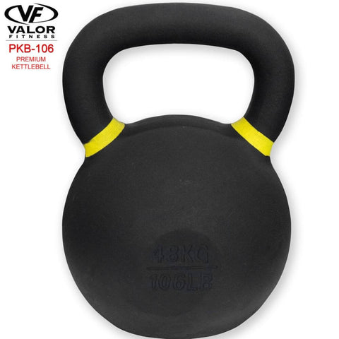 Valor Fitness PKB ValorPRO Premium Kettlebells 106 Lbs Front View