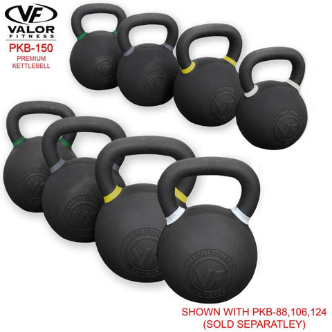 Image of Valor Fitness PKB ValorPRO Premium Kettlebells 150 Lbs Family