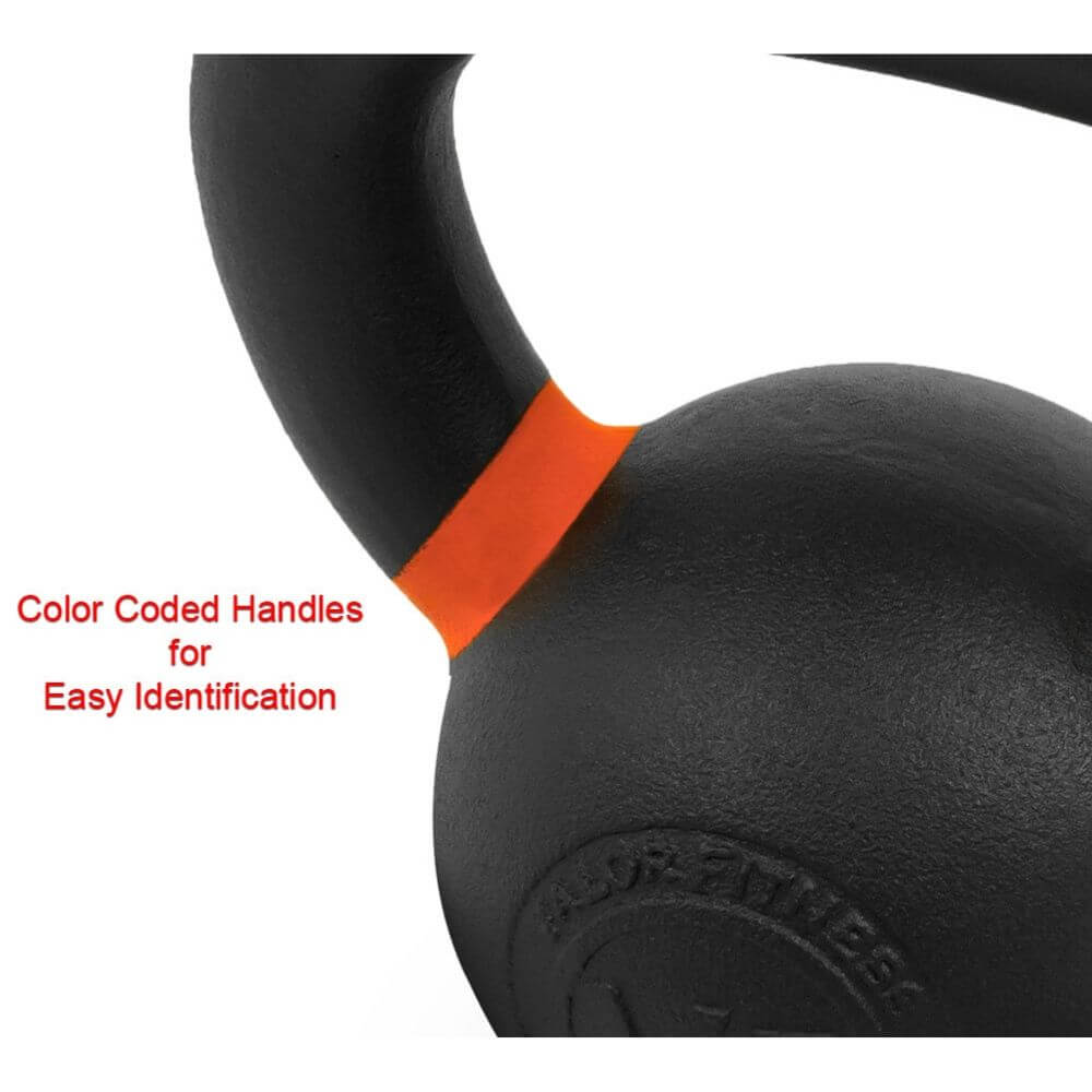 Valor Fitness PKB ValorPRO Premium Kettlebells 20 Lbs Color Coded handles