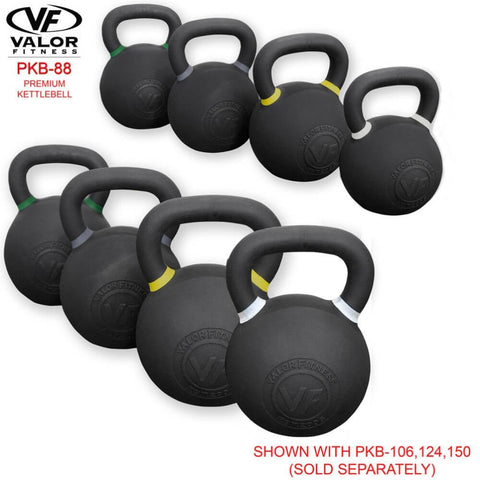 Image of Valor Fitness PKB ValorPRO Premium Kettlebells 88 Lbs Family