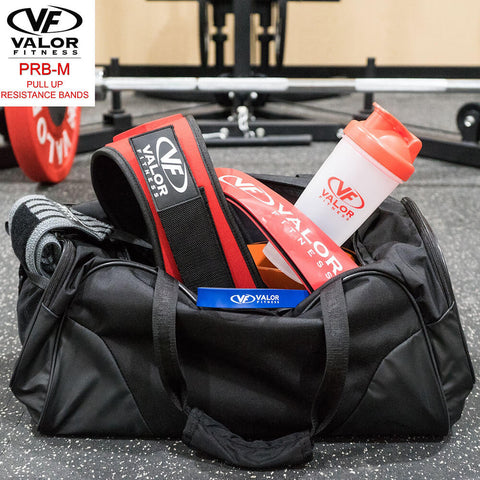 Image of Valor Fitness PRB-M-Blue Pull Up Resistance Bands In Bag