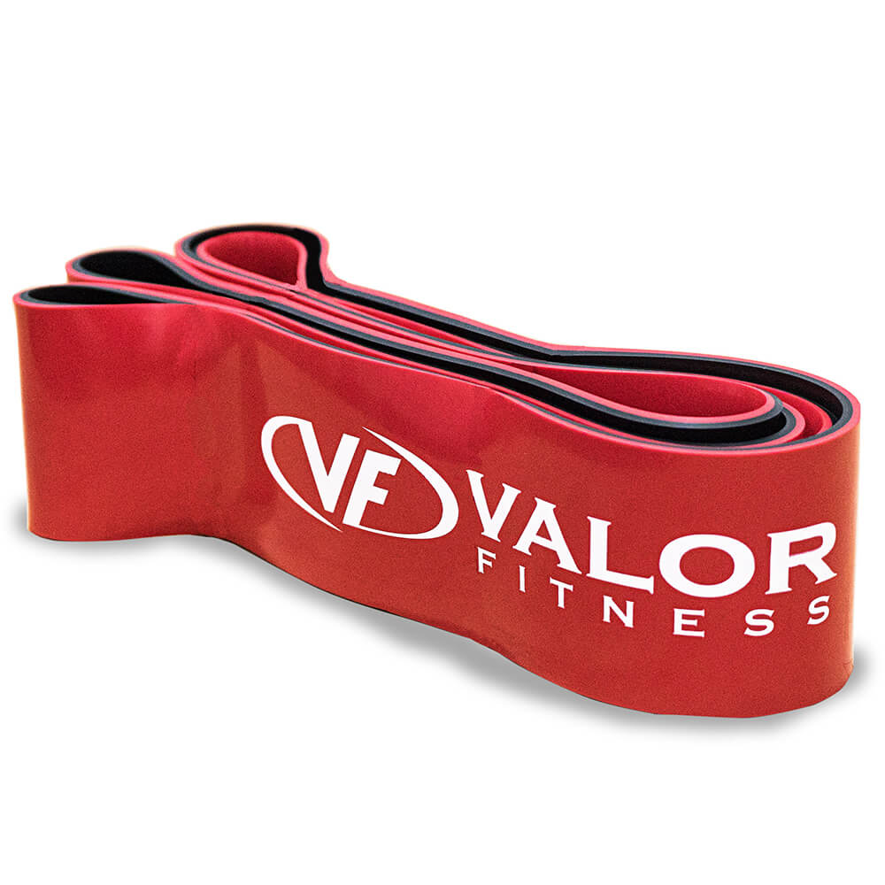 Valor Fitness PRB-XXL-Red Pull Up Resistance Bands 3D View