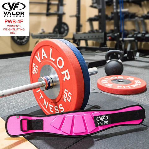 Image of Valor Fitness PWB-4F Womens Power Weightlifting Belt With BPPU