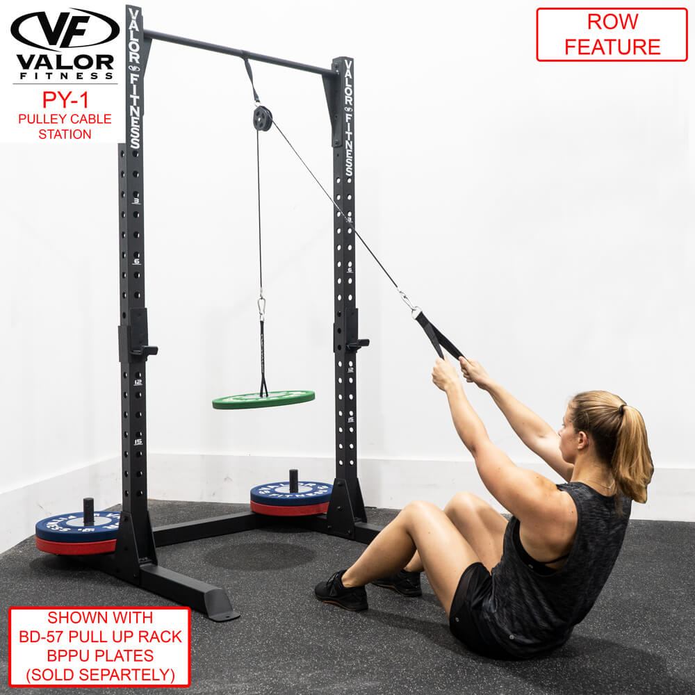 Valor Fitness PY-1 Pulley Cable Station Row