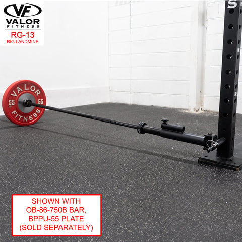 Image of Valor Fitness RG-13 Landmine With BPPU Plate