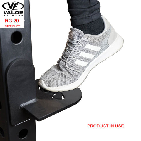 Image of Valor Fitness RG-20 Step Plate Product In Use