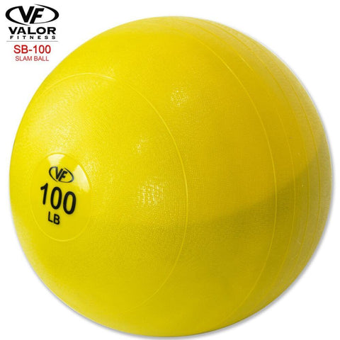 Image of Valor Fitness SB Slam Balls 100 Lbs  3D View