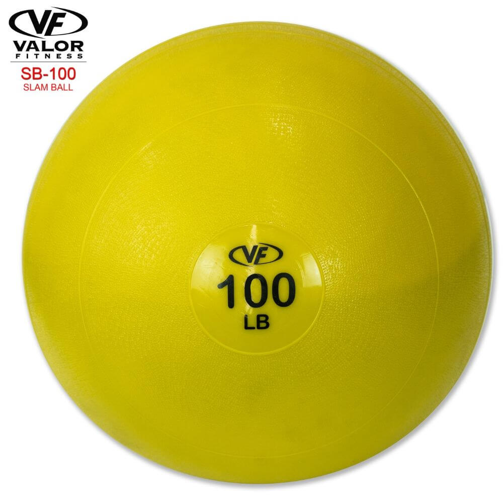 Valor Fitness SB Slam Balls 100 Lbs Front View