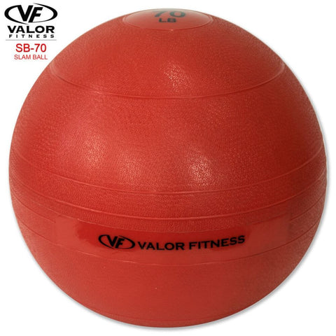 Image of Valor Fitness SB Slam Balls 70 Lbs Back View