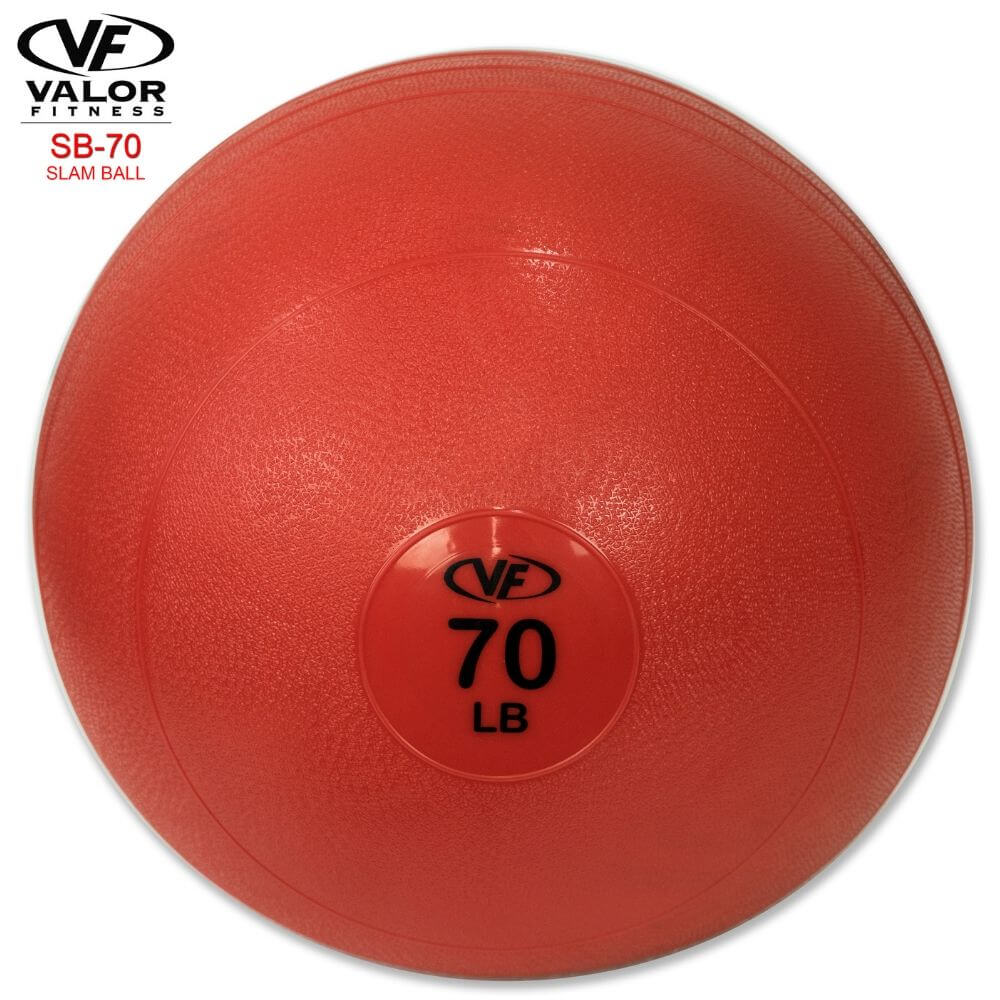 Valor Fitness SB Slam Balls 70 Lbs Front View