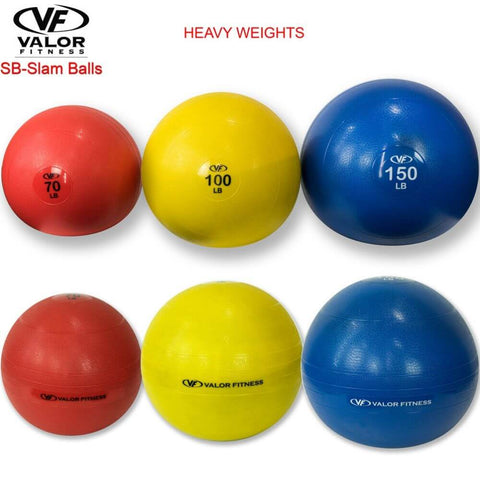 Image of Valor Fitness SB Slam Balls Family 150Lbs, 100 Lbs, 70 Lbs