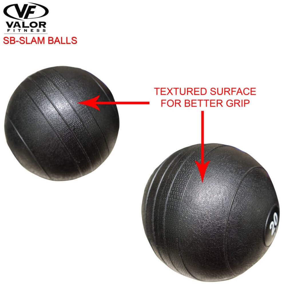 Valor Fitness SB Slam Balls Features